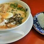 緑亭 - ラーメン定食
