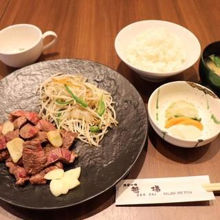 格安1000円~本格鉄板焼きステーキ定食