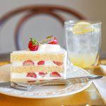 ラ・クラシック - 料理写真:すずあかねのショートケーキ、国産レモンのレモネード