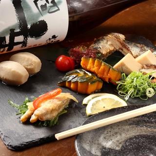 京都の食材でお造りを