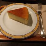 ブラッスリー・レカン・キャフェスペース - チーズケーキ