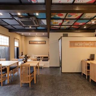 日本らしさが満載◆純和風の落ち着いた空間