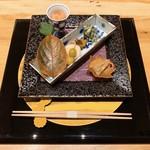 円かの杜 - 料理写真:前菜