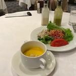 sun-mi 高松 - スープとサラダがつきます