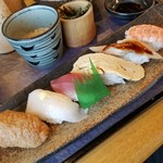 寿司龍 - 寿司六貫