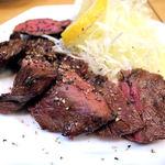 須賀乃湯 - 牛ハラミステーキ