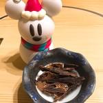 鶴べ別館 - 烏賊の肝の珍味