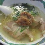 ばんちゃんラーメン - 梅塩ラーメン(ミニ)