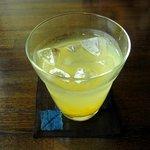 はやし - 冷たいゆず茶(450円)