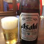 福龍 - 湯上りのビールは 格別ですね~