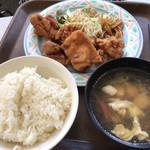 モンマルト - ユーリンチー定食