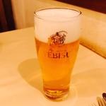 デリツィオーゾ フィレンツェ - ビールで軽く