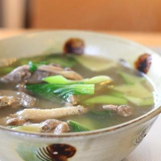 キッチンイナバ - 料理写真:イノシシ汁