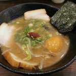 らぁめん じん - 【味噌の逆襲 + 味玉子】¥850 + ¥100
