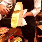 98229589 - 熱々花畑牧場のラクレットチーズ