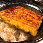 和食と炭火焼 三代目 うな衛門 - ◆うなぎの蒲焼丼ハーフ 2,138円