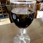 オリガノ - グラスワイン(赤)400円