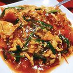 京香房 - 玉子とトマト炒め