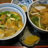 つうつうハイハイ店 - 料理写真:かつ丼+きつねうどんセット