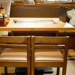 めっせ熊 - ☆テーブル席の雰囲気(*^_^*)☆