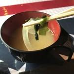 レッドマン - 味噌汁の具材