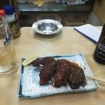 酒蔵お太幸 - 激辛手羽先唐揚げ395円
