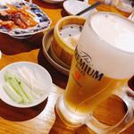Chuugokukyoudoryourikinri - 2杯目のビールと四川ダック