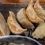 肉汁餃子製作所 - 『肉汁餃子ライス』(税込み680円)