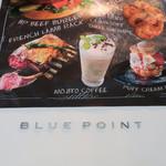 BLUE POINT - ブルーポイントのテラスに