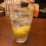 やきとんエイト - レモンサワー