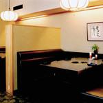 焼肉割烹 松阪 - 4人掛けボックス席