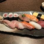 寿司と酒 十六夜 - 梅にぎり