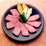 焼肉割烹 松阪 - 特選カルビ