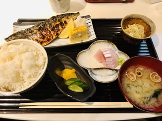 和食とお酒 きいろ 青山店 - トロ鯖定食