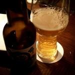WITH THE STYLE cotton. - クラフトビールの沖縄サンゴ(950円)。
