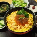 爽季 - 鮭とイクラ親子御膳 1600円