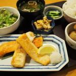 爽季 - 鮭のハラス焼き御膳 1500円