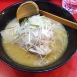 あなぐらぁー - 料理写真:中山ラーメン  Aランチ(700円)のラーメン。