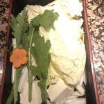 しゃぶ亭 - 野菜盛り