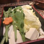 しゃぶ亭 - 白菜ボリューム抜群