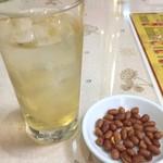 大武飯店 - 【'18.12】ウメサワーと一緒に豆がきた