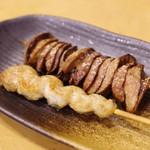 鰻専門店 愛川 - レバー、くりから焼き