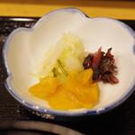 鰻専門店 愛川 - 香の物