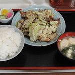 永鳳 - 豚肉とキャベツのみそいため(並)定食?【2011/10/0*】