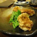 ダイニング 夢 - 鶏唐揚げ(1個食された後w)