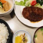 ハチロー - カツ定食
