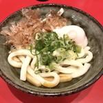伊勢うどん専門店 いなむら - 伊勢うどん+温泉玉子(680円)