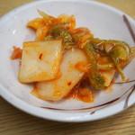 味の三平 - キムチ(サービス)