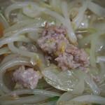 味の三平 - みそラーメン(ミンチ)