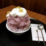 茶屋赤鰐 - 巨峰ホイップ(790円)